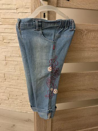 Spodnie z miekkiego dzinsu 10zl