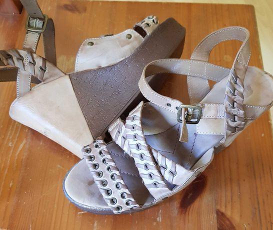 Skórzane sandały Maruti 39 Okazja jak nowe