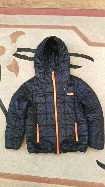 Куртка на мальчика 8-9лет р.128