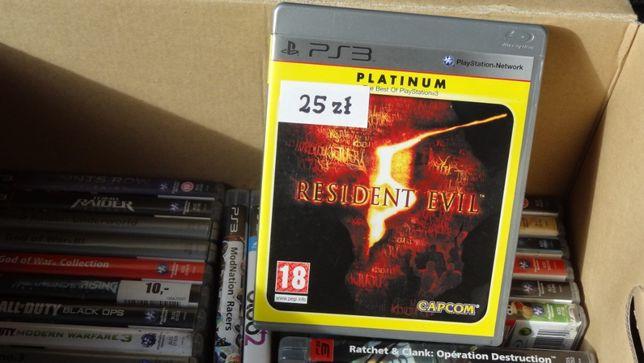 + Resiident Evil 5 + gra na PS3 klasyk, gry Playstation 3