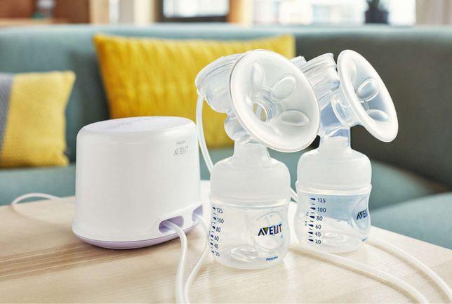 Двойной электронный молокоотсос Philips AVENT Comfort SCF334/02