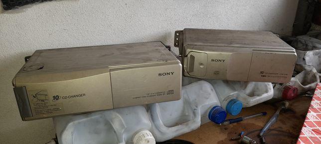 Caixas de CDS para rádio Sony