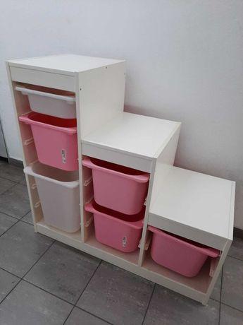 Móvel Trofast com caixas - IKEA