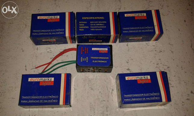 transformadores electrónicos para lâmpadas de halogéneo 220V - 12V