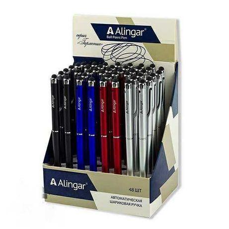 Стилус ручка 2 в 1 (с одной стороны ручка с другой стилус для экранов)