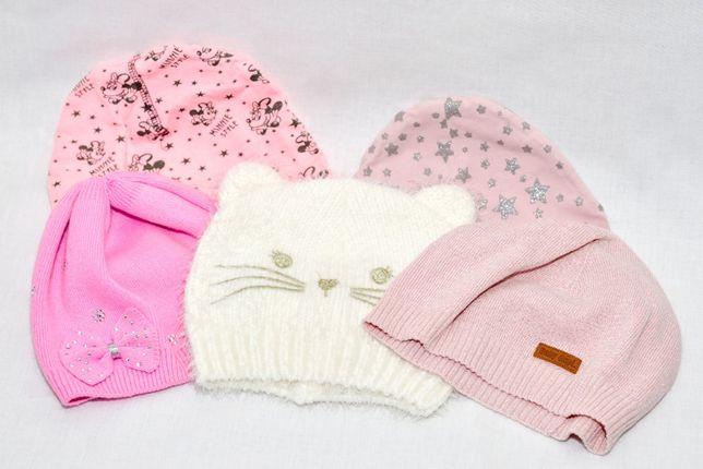 Zestaw zimowy dla dziewczynki czapka wiosna jesień zima