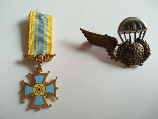 Medalhas da Força Aérea Portuguesa e Brasileira