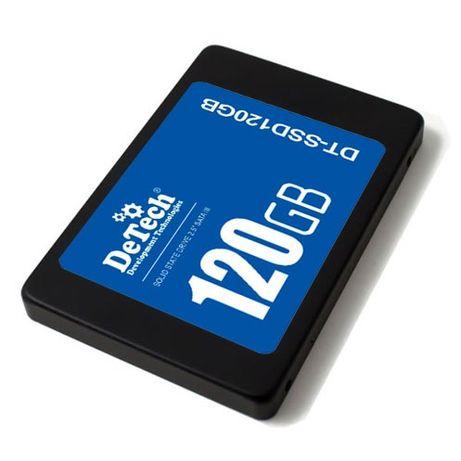 """Новый SSD накопитель DeTech 120GB 2.5"""" SATAIII"""
