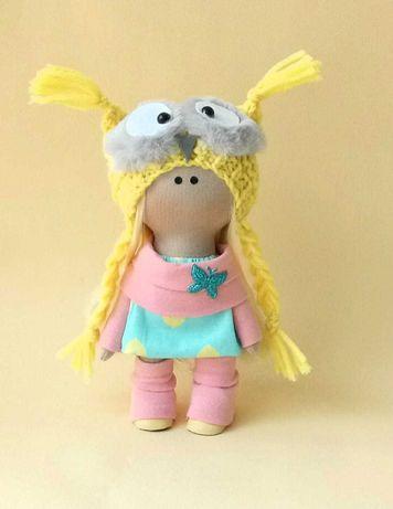 Кукла ручной работы. Подарунок дівчинці. Лялька ручної роботи.