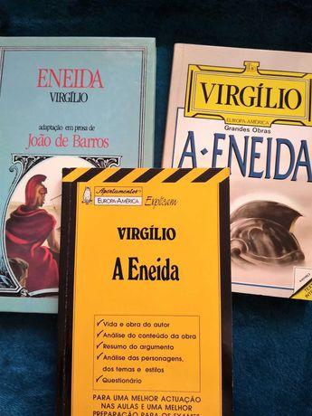 (12º ano) Eneida de Virgílio e caderno apontamentos