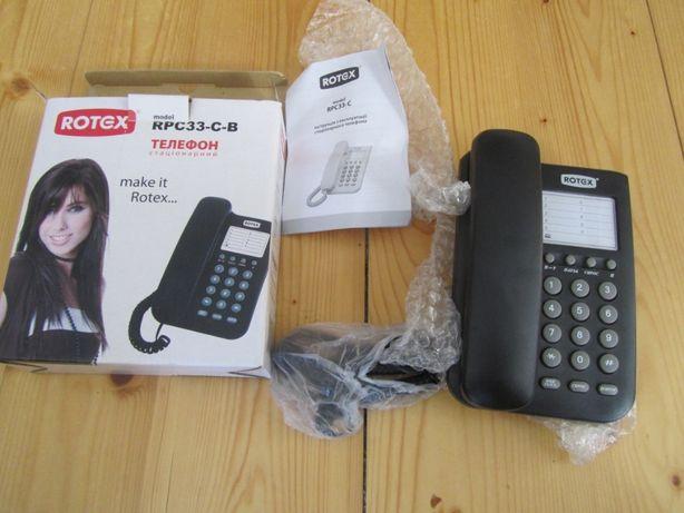 телефон стаціонарний новий ROTEX rpc33