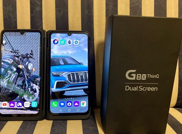 LG G8X ThinQ 6/128 GB + DualScreen ideał/gwarancja