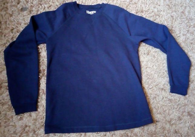 Bluza dresowa granatowa HANES rozmiar XL