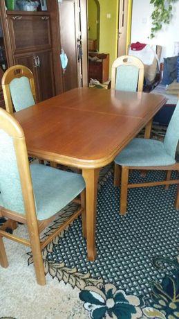 Stół rozkładany 6 krzese
