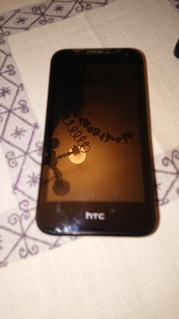 HTC Desire 310 granatowy tył