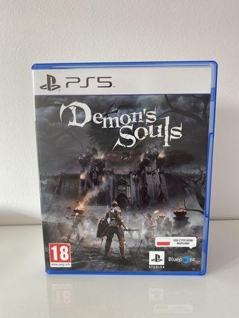 Gra PS5 Demon's Souls Demon Souls jak nowa