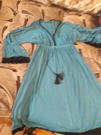 Женское  свободное платье.