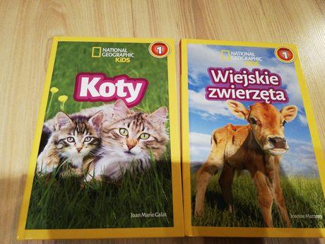 Książeczki na nauki czytania National Geographic Poziom 1