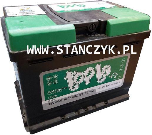 Akumulator Topla Top AGM Stop & Go 60 Ah 680 A