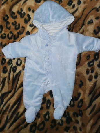 Kombinezon niemowlecy plus ubranka 56-68