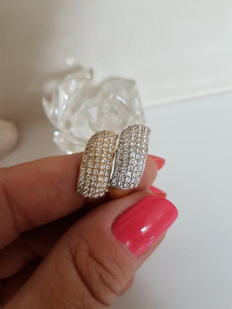 Złoty 585 pierścionek