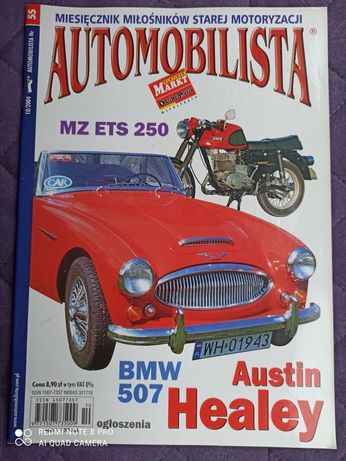 Automobilista nr 55 (10/2004) BMW 507, Austin Healey, MZ ETS 250