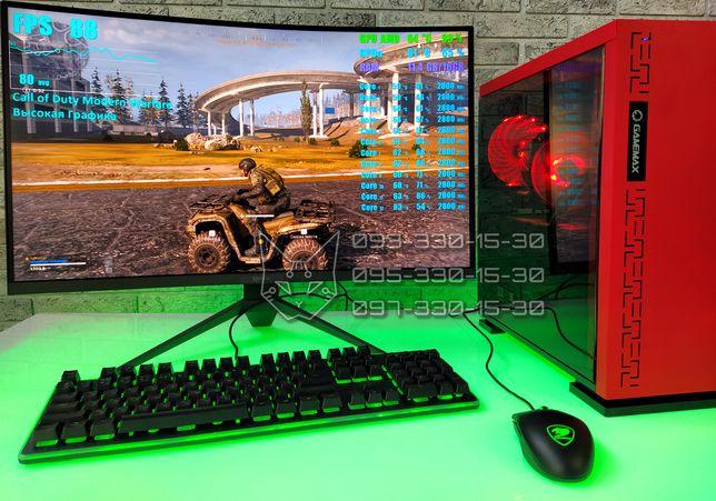 ТермоЯдерный! RX 480 8Gb+6/12ядер+SSD Гарантия Игровой Компьютер ПК i7