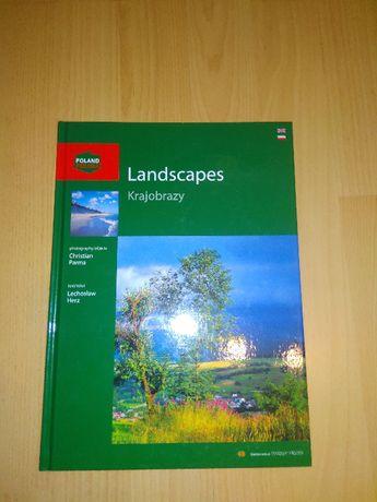 książka Krajobrazy