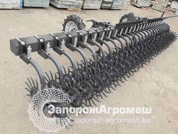 Борона-мотыга ротационная 6 метров