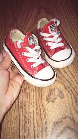 Converse czerwone rozmiar 22
