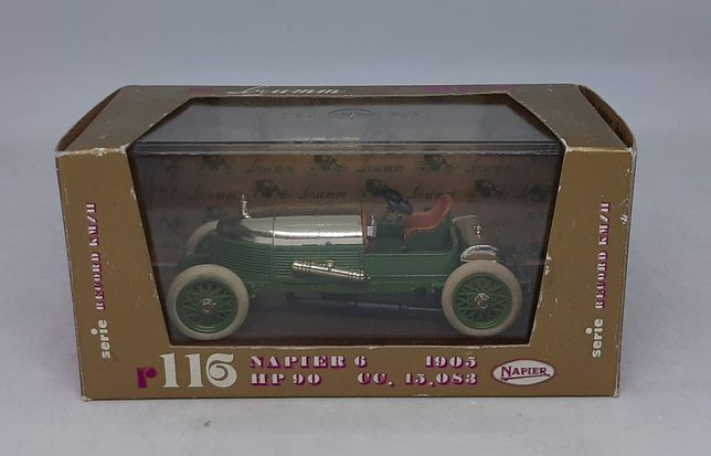 NAPIER 6 HP 90 6 CILINDRI (1905) - Brumm r116 Made in Italy 1:43