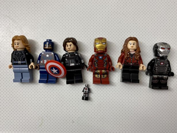 Lego marvel super heroes фигурки одним лотом