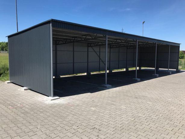 WIATA garaż blaszany HALA hale wiaty konstrukcja magazyn CAŁA POLSKA