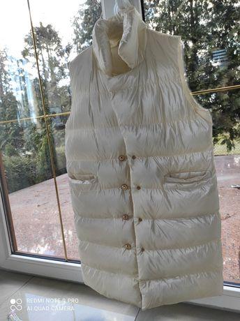 Kamizelka biała perła nowa uniwersalny Wiosna mega