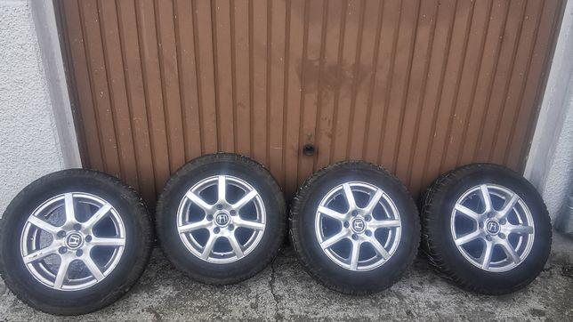 felgi z oponami zimowymi 15 Honda 5x114,3 et50