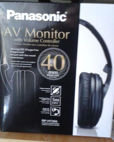 Panasonic RP HT-265 słuchawki NOWE!