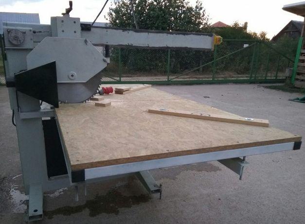 Ukośnica duża, Blat 250*125cm, regulowany kąt: 0-45° i wysokość cięcia