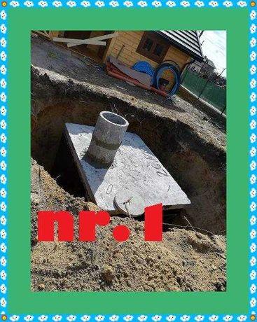 Szambo Betonowe odchody ścieki Betonowy 7m3 Zbiornik na gnojowice