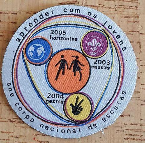 Escutismo/Escuteiros - Insígnia CNE 2003 a 2005