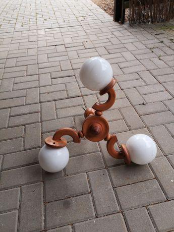 Lampa drewniana,w kolorze sosny naturalna. Lampa nowa. Dobra cena.