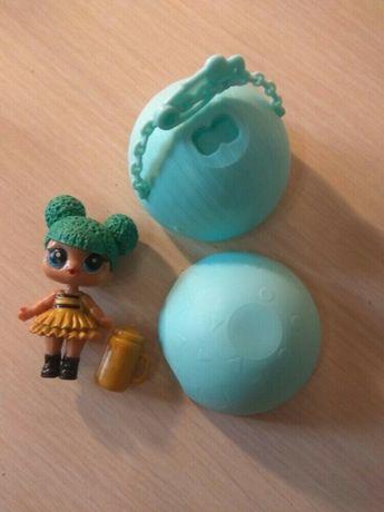 Золотая кукла Лол мини 7 см в шаре LOL Suprise ЛОЛ Сюрприз