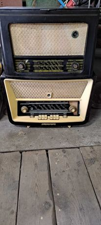 Zestaw stare radia lampowe tatry  cena za komplet