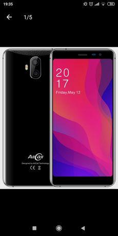 "Смартфон AllCall Rio X Black 1/8Gb, 13+2/5+2Мп, 2sim, 5,5"" IPS,"