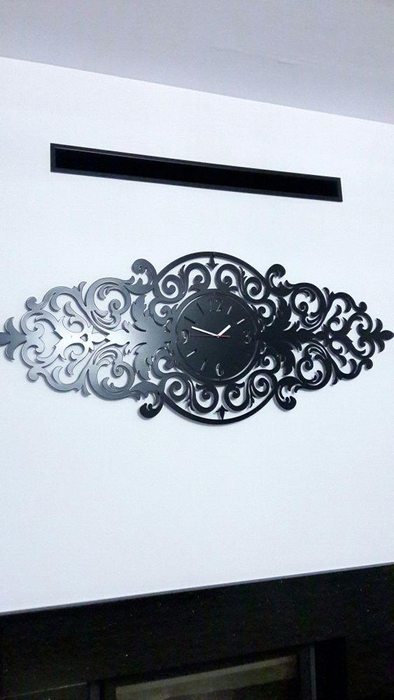 Duży stylowy zegar ścienny lub nad kominek Glamour Nowa Dęba - image 1
