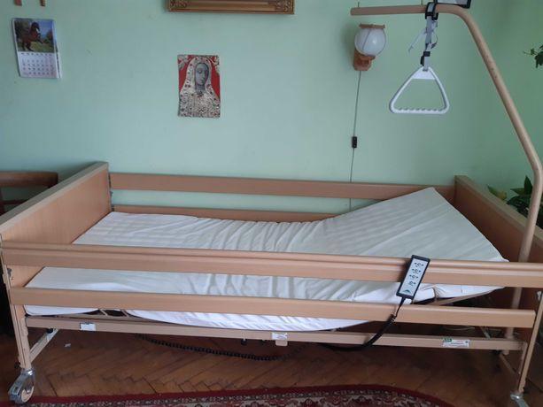 Łóżko rehabilitacyjne dla osoby leżącej