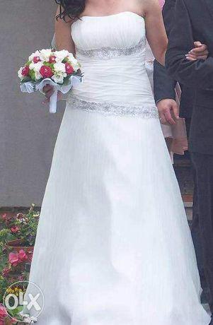 OKAZJA!!! Suknia ślubna 38