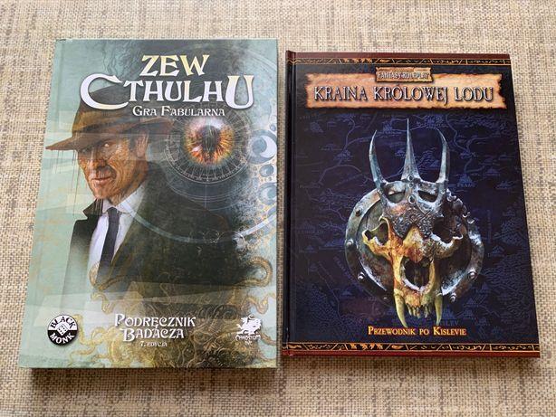 Warhammer Kraina królowej lodu + Zew Cthulhu 7ed. podręcznik badacza