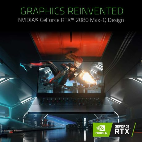 Razer Blade 15 Advanced - i7 9750H RTX2080MaxQ FHD240Hz 16GB 512GB SSD