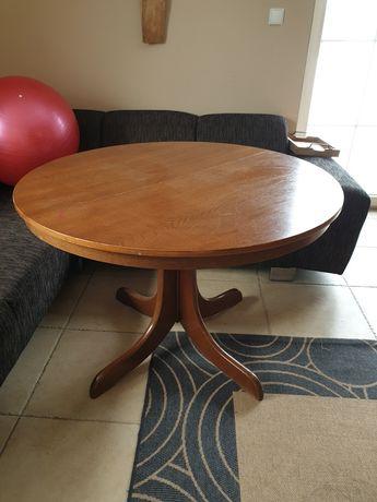 Stół rozkładany drewniany dębowy