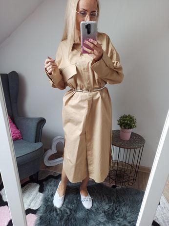 NOWA Koszulowa sukienka ZARA rozmiar S
